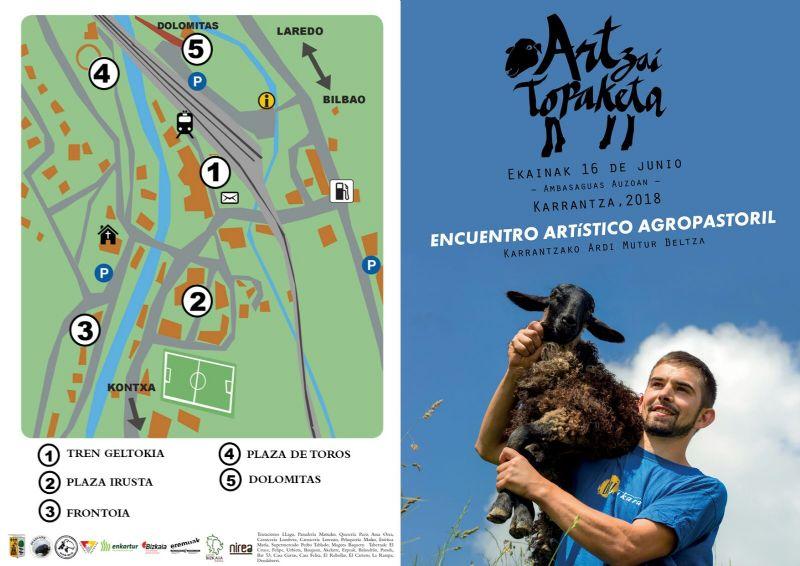 Cartel de ENCUENTRO ARTISTICO AGROPASTORIL