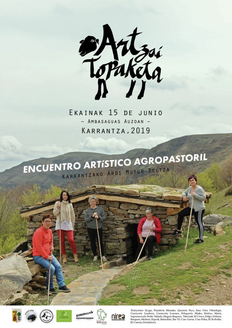 Cartel de ENCUENTRO ARTISTICO AGROPASTORIL 2019, KARRANTZA